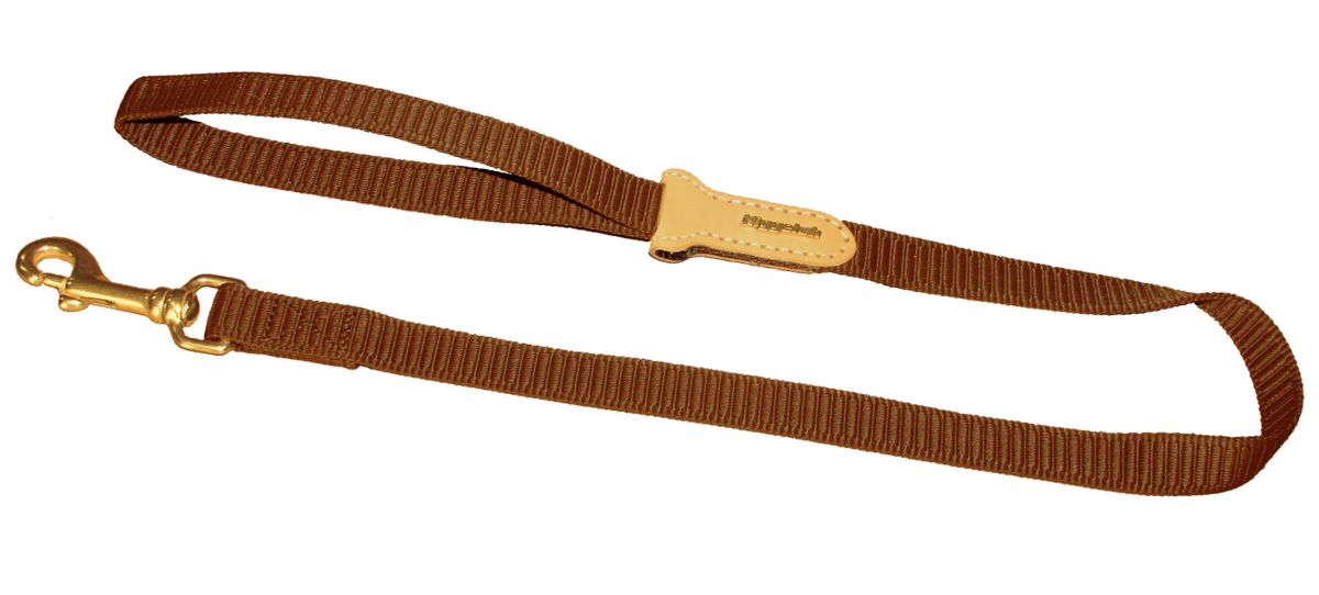 "2.8 Feet Lead ""QUICK"" in brown"