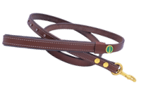 STAR Genuine Leather Lead in brown