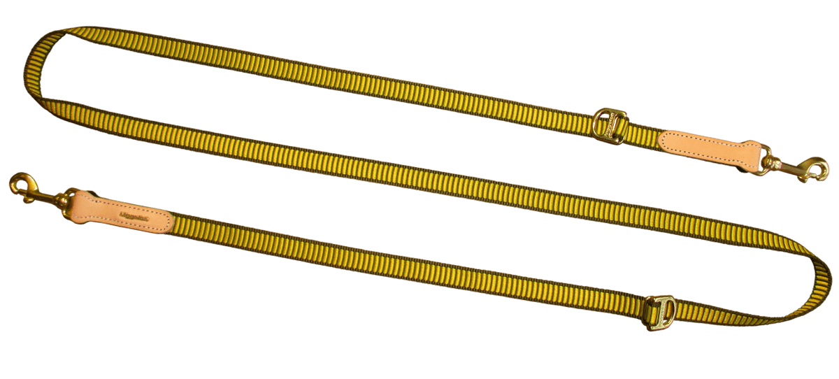 "Dog Lead ""VARIABEL"" in yellow"