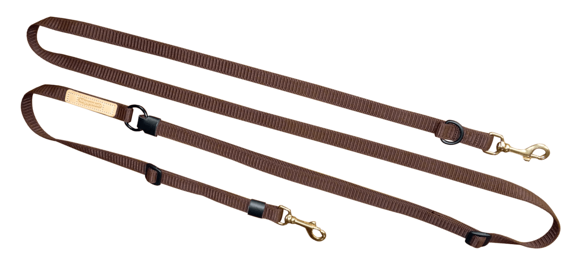 Shoulder lead DeLuxe 20mm in brown