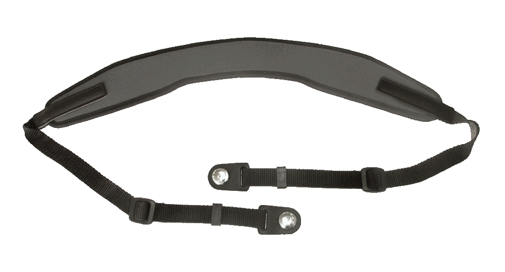Contour-shaped neck strap with 2 Tenax connections
