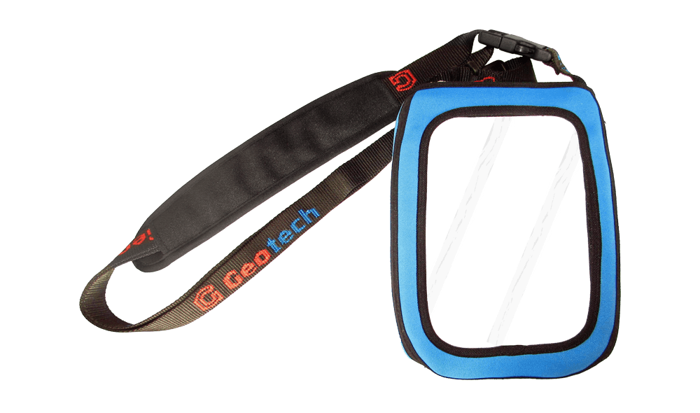 Protective bag made of neoprene with foil and carrying strap